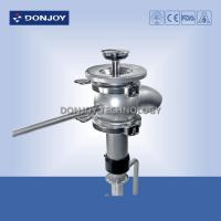 China 1 Inch Tank Botto Stainless Steel Valves With Welded Connection wholesale
