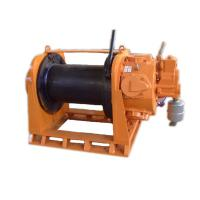 China Hydraulic Electric Air Winch Heavy Duty Low Speed Wire Rope Sling Type 5T on sale