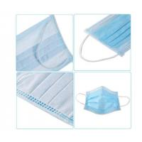 China Easy Breathing 3 Ply Disposable Face Mask  High BFE Soft Comfortable FDA CE wholesale