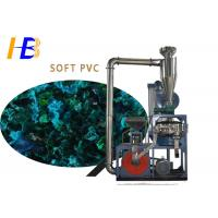 Powerful Soft PVC Plastic Material Grinders For Regrinding Coarse Powder 3000*2800*3900mm