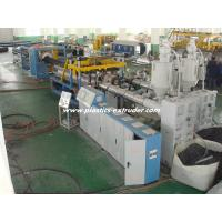 China Horizontal Structure HDPE Double Wall Corrugated Pipe Extruder 200 - 400 Diameter CE / ISO wholesale