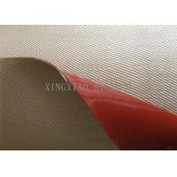 China Chemical Corrosion Silicone Coated High Silica Fiberglass Fabric Cloth Multi Color wholesale
