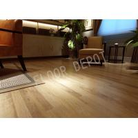 China Click System Laminate Wood Flooring E1 Waxed Birch Color Crystal 8mm Indoor wholesale