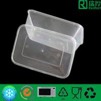 China Food Industrial Use and Recyclable Feature High Quality Disposable Plastic Food Container With Lid 500ml wholesale