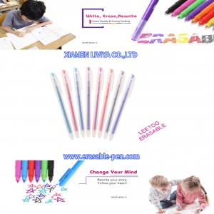 China 8 Color Refillable Heat Erasable Fabric Marking Pens wholesale