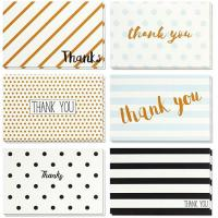 China Retro Design Holiday Greeting Cards , Blank Inside Christmas Thank You Cards wholesale