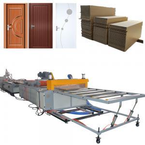 China Wood Plastic Composite WPC Door Machine Industrial Door Panel Production Line WPC Door Machine on sale