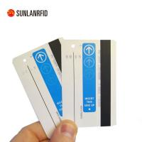 China MIFARE Classic printable writable plastic card with magnetic stripe ic chip for parking system(professional manufacturer wholesale
