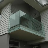China Patch Fitting Stainless Steel Glass Standoff Brackets For Tempered Glass Balustrade on sale