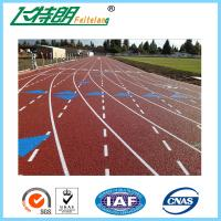 China Sports Field Rubber Jogging Track Material For Outdoor Sports Flooring wholesale