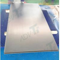 China Unalloyed Titanium Cold Rolling Coil Sheet Metal Wate Jet Cutting wholesale
