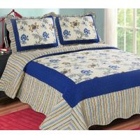 China Printed Embroidery bedroom beautiful comforter sets with frame wholesale