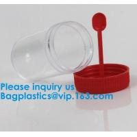 China Medical Use Sterile Urine And Stool Sample Container 30ml 40ml 60ml 100ml,Disposable Urine Test Bottles For Medical Cont wholesale