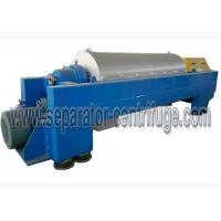 China Continuous 2 Phase Good Price Chemical Industry Decanter Centrifuges for Solid Dewatering wholesale