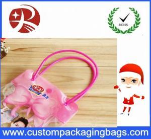 China Moisture Proof Harrods Pvc Shopping Bag , Label Clear Pvc Bag Eco Friendly wholesale