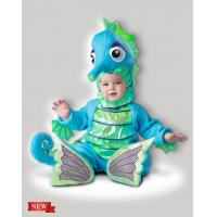 China Blue Green Infant Baby Costumes Silly Seahorse 6084 for Party wholesale