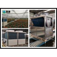 China Green House Heat Pump Hot Water System / High Temp Heat Pump Heating And Cooling wholesale