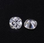 China Diamonds Moissanite Super White DEF Cushion Shape 8mm VVS Clarity Fancy Cut wholesale