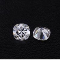 China Diamonds Moissanite Super White DEF Cushion Shape 8mm VVS Clarity Fancy Cut wholesale