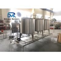 China Cip Clean In Place Equipment Beverage Plant Use 1000l-3000l Volume wholesale
