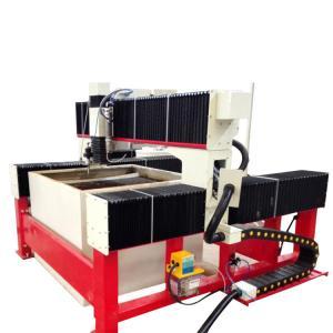 China 1300*1300mm 420Mpa CNC laminated glass water jet cutting machine with CE wholesale