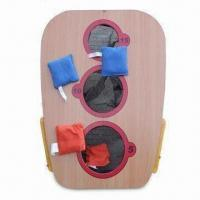 China Wooden Bean Cornhole Game with Carry Bag on sale