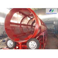 China Shaftless Rotary Trommel Screen Machine For Woodchips / Compost / Urban Waste wholesale