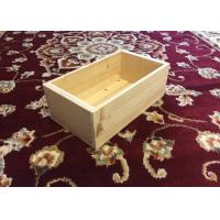 China Rectangle Shape Custom Wood Serving Tray For Books 35cm X 15cm X 10cm wholesale