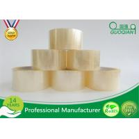 China Clear Shipping Storage Box BOPP Sealing Tape Single Sided ISO SGS wholesale