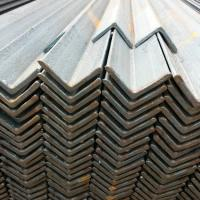 China Coated 4 x 4 Galvanized Steel Angle Iron Aluminum , Equal And Unequal Angle on sale