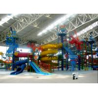 China Large Water Playground Equipment Compound Water House ISO Certified wholesale