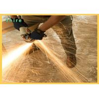 China Ultra Tough Clear Carpet Protection Film Fireproof Tearing Poly Surface Protective Film wholesale