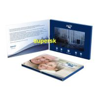 China Bespoke Personalized  Invitation Video Card Business Video Greeting Card wholesale