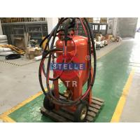 China Manual Portable Wet Sand Blasting Machine Dust Free Ship Paint Removal on sale
