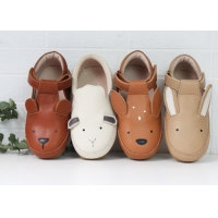 Quality Genuine Leather Sole SOEKIDY Stylish Kids Shoes for sale
