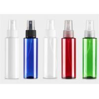 China Cylinder Pet Plastic Pump Lotion Packing Refillable Perfume Spray Bottle on sale