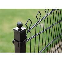 China Durable Galvanized Wire Mesh Steel Palisade Fencing With Powder / PVC Coating wholesale