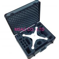China Gray Aluminum Tool Cases/ ABS Carrying Case With Foam For Packing Tool wholesale