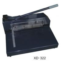 China Manual Paper Cutting Machine , Electric Heavy Duty Paper Cutter  XD-322 wholesale