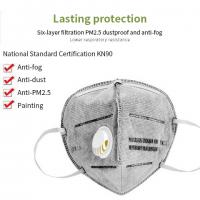 China Antivirus Activated Carbon Dust Mask , Activated Charcoal Breathing Mask wholesale
