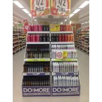 China Combined Type Large Size Cardboard Display Shelf for Shampoo Promotion on sale