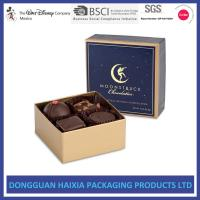 Quality Chocolate Decorative Gift Boxes With Lids Small Capacity For Birthday Gifts for sale