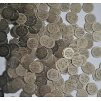 China Micron Hole Size stainless steel filter disc , wire filter mesh diameter 5mm on sale