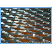 China Aluminum Flat Expanded Metal Mesh / SS304 Expanded Mesh Screen For Architecture wholesale