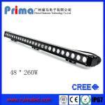 "China 48"" 260W Cree Led Light Bar! Single Row Light Bar for Jeep SUV 4X4 wholesale"