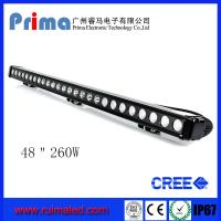 """Buy cheap 48"""" 260W Cree Led Light Bar! Single Row Light Bar for Jeep SUV 4X4 from wholesalers"""