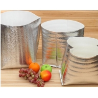 China 20*35cm Disposable Hot Insulated Food Packaging Reflective Insulation Foil wholesale