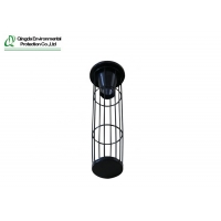 China 6000mm Length Industrial Dust Collector Bag Cages With Venturi on sale