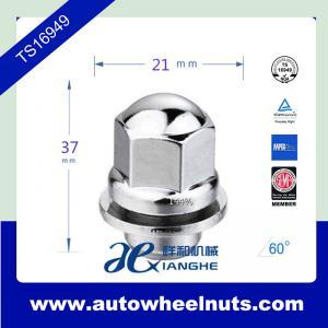 China Thread Chrome Mag Shank Type Custom Wheel Lug Nuts With Washers 12 mm * 1.5 wholesale