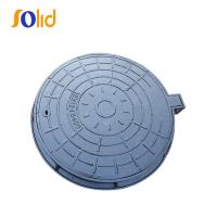 China EN124 D400 Epoxy Painting Ductile Iron Sewer Manhole cover wholesale
